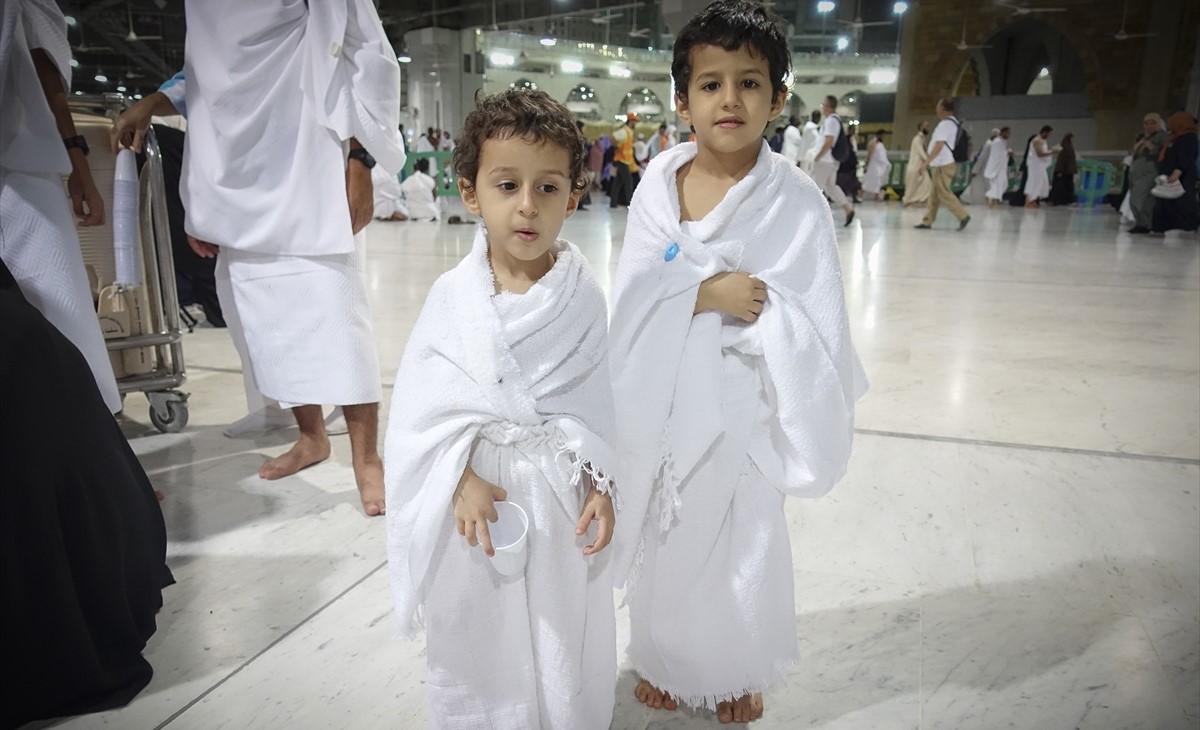 El HAJJ y la UMRAH para los niños menores de edad